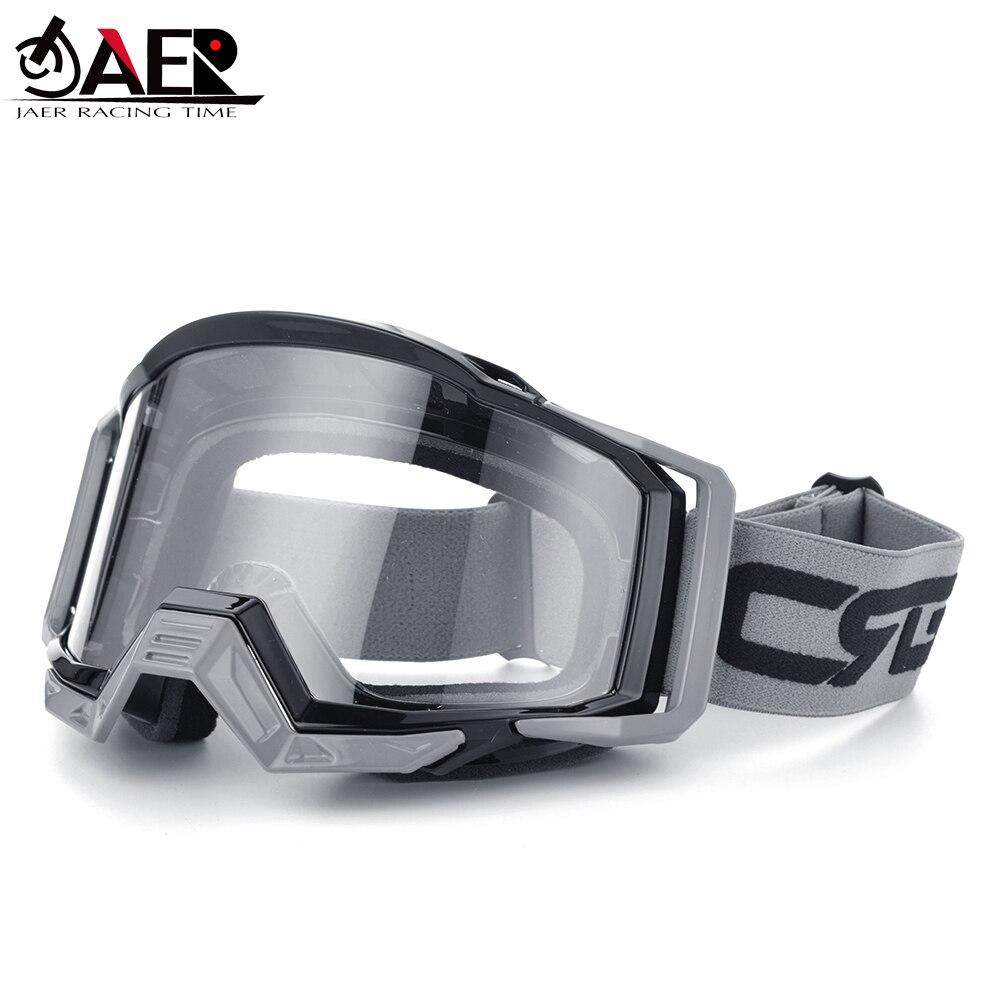 JAER 100% ATV DH MTB Motocross Helmet Goggles for Dirt Bike Motorcycle Dirt Bike Glasses Ski Sport Glasses Masque Moto Glasses